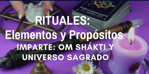 """Conferencia Gratuita """"Rituales: Elementos y Propósitos"""""""