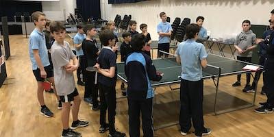 Richmond Park Table Tennis Club - Autumn Term 2019 SECONDARY SESSION