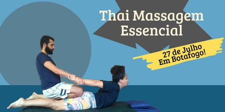 10º Workshop - Thai Massagem Essencial ingressos