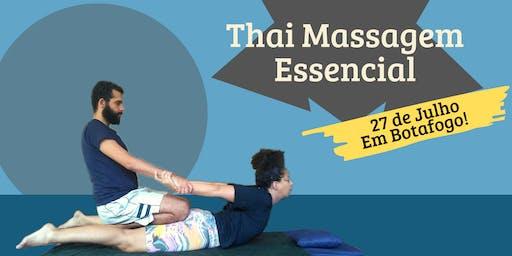 10º Workshop - Thai Massagem Essencial
