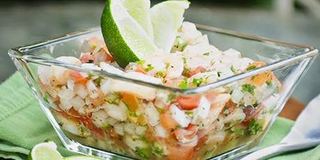 Ceviche and Sangría Cooking Class tickets