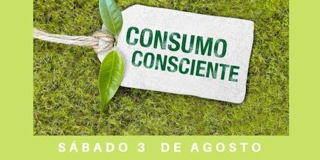 """Conferencia Gratuita """"Consumo Consciente"""" entradas"""