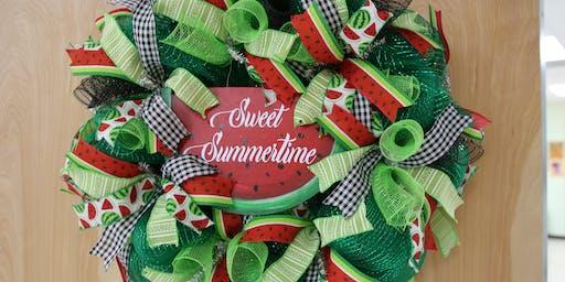 Watermelon Wreath - BYOB