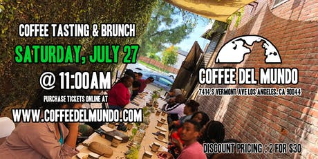 Coffee Roasting Experience & Brunch tickets