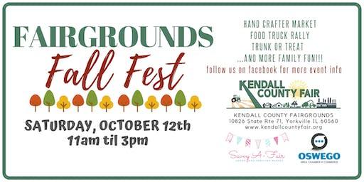 Fairgrounds Fall Fest - Savvy A-Fair Goods and Services Market Registration