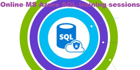 Azure SQL DBA  training in Paas& IaaS ( Azure Basic and Azure SQL DBA expert concepts ) tickets