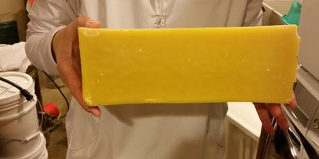 Rendering and Cleaning Beeswax and Making Beeswax Candles tickets