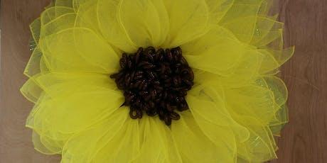 Sunflower  Wreath - BYOB tickets