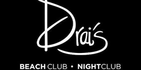 Drai's Nightclub - Vegas Guest List - HipHop - 11/2 tickets