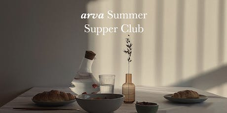 arva summer supper club tickets