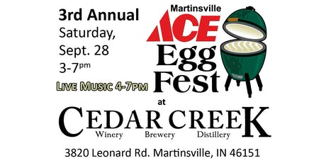 MARTINSVILLE ACE EGGFEST AT CEDAR CREEK WINERY tickets