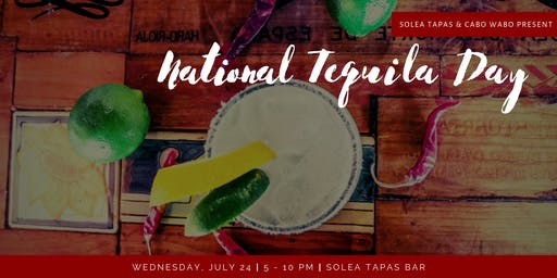 National Tequila Day at Solea