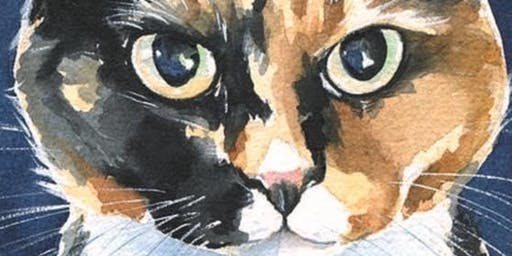 Angus Cat Rescue Fundraiser Paint your cat