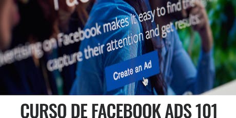 CURSO GRATUITO DE FACEBOOK ADS 101 boletos