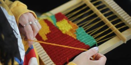 Tapestry Frame Weaving Workshop  tickets