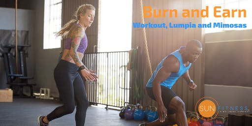 Burn and Earn (Workout, Lumpia and Mimosas)