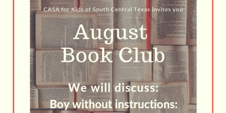 CASA Book Club: Boy Without Instructions tickets