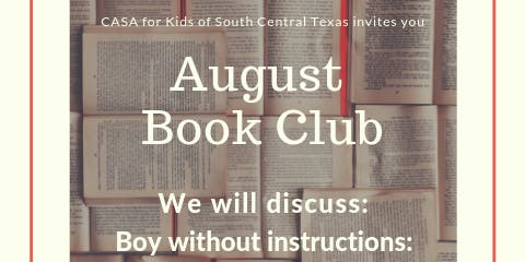 CASA Book Club: Boy Without Instructions