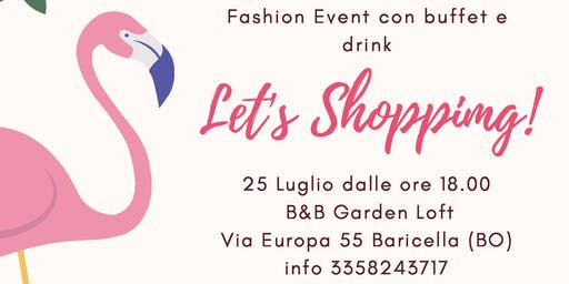 Let's Shopping!  Fashion Market outdoor all'interno di un giardino privato