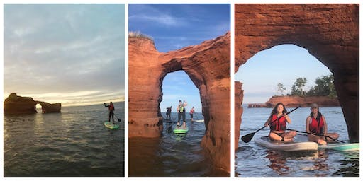SUNRISE Paddy's Island Stand Up Paddle Boarding Trip (Paddle thru the Arches!)