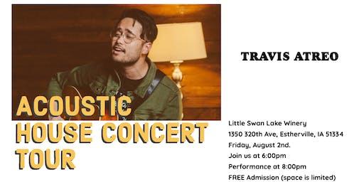 Travis Atreo Performance & Kick off to Sweet Corn Days weekend!