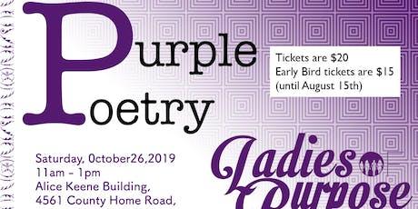 Purple Poetry tickets