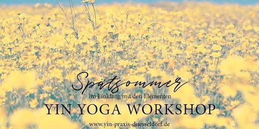 YIN YOGA Workshop - Spätsommer