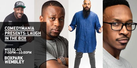 ComedyMania Presents: Laugh In The Box tickets