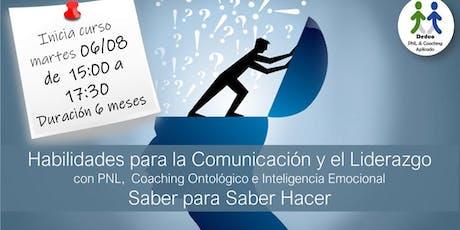 Curso Habilidades  para la Comunicación y el Liderazgo PNL & Coaching entradas