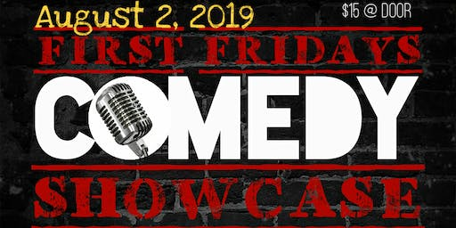 First Fridays Comedy Showcase feat. Mic Larry
