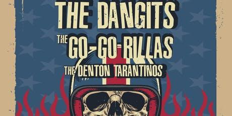 The Dangits, The Go-Go Rillas, The Denton Tarantinos in the Lounge tickets