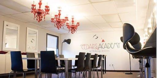 Cedar's Academy of Makeup Artistry OPEN HOUSE