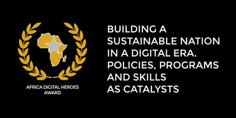 Africa Digital Heroes Award tickets