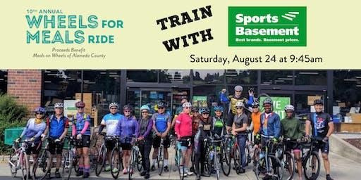 FREE Training Ride for #WFMR2019