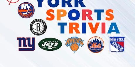 NY Sports Trivia tickets