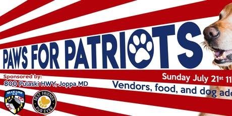 Paws for Patriots tickets