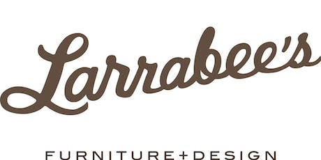 Larrabee's Furniture + Design WAREHOUSE SALE V.I.B. Exclusive Private Preview! tickets