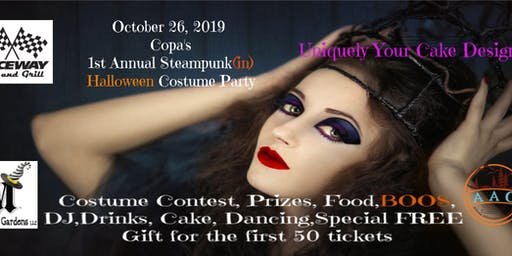 1st Annual Steampunk Halloween Costume Party