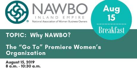 NAWBO-IE August Meeting tickets
