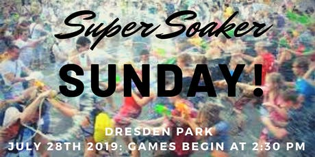SuperSoaker Sunday tickets