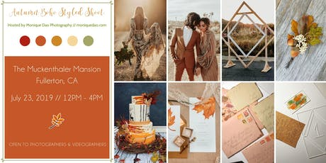 Autumn Boho Styled Shoot by Monique Dao Photography tickets