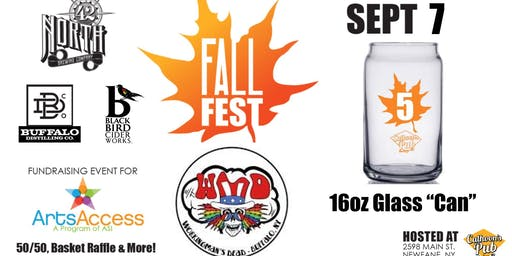 5th Annual Fall Fest - Pre-Sale Glass & Tastings