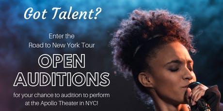 The Road to New York Talent Competition - Open Call Auditions tickets