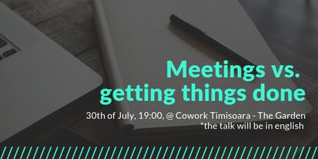 Freelancers Meetup - Meetings vs getting things done tickets