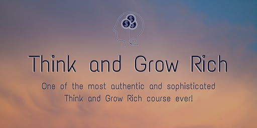 Think and Grow Rich - 3 Day Course