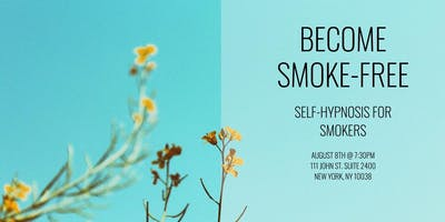 Become Smoke-Free:  Self-Hypnosis For Smokers