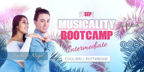 Musicality Bootcamp in Rotterdam - Nigel & Sachi - Mode Zéro tickets