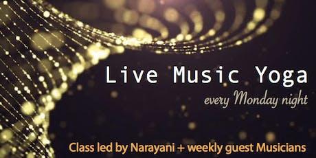 Live Music Yoga   Sat Sukh tickets