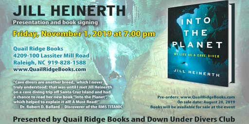 Jill Heinerth - 'Into the Planet: My Life as a Cave Diver' Book Signing