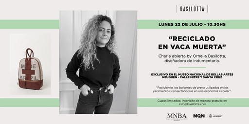 """""""Reciclado en Vaca Muerta"""" by Ornella Basilotta"""